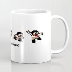 8-bit Andres 5 pose v1 Mug