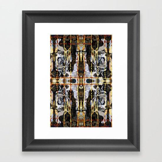 Drips ORG:02 Framed Art Print
