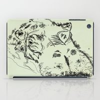 hippo iPad Cases featuring Hippo by Julia Kisselmann