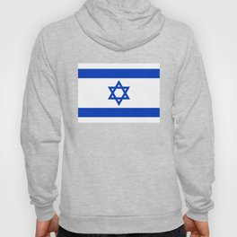 Flag of the State of Israel - High Quality Image Hoody