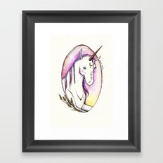 Once, When I Was Searching Framed Art Print