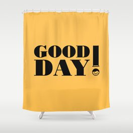Greetings! Shower Curtain