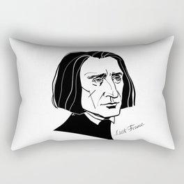 Franz Liszt Rectangular Pillow