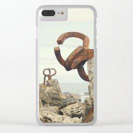 Peine del Viento Clear iPhone Case