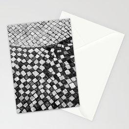 Mosaico A calçada portuguesa Stationery Cards