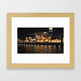 Shanghai Lights Framed Art Print