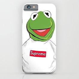 KERMIT/SUPREME iPhone Case