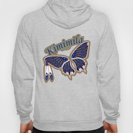 Butterfly Nation Blue Hoody