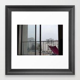 OURCQ VIEW Framed Art Print