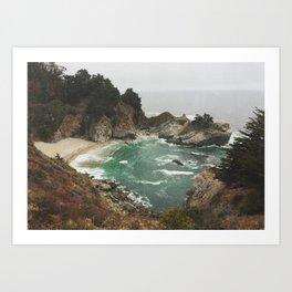 Big Sur - Julia Pfeiffer Art Print