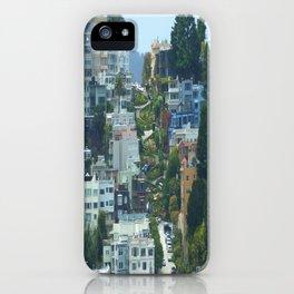 Lombard Street, San Francisco iPhone Case