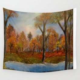 Autumnal Augur Wall Tapestry