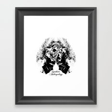 Synthetic Anthropology Framed Art Print