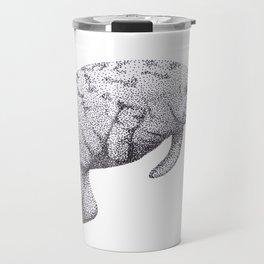Manatee (Trichechus manatus) Travel Mug
