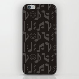 Happy Music iPhone Skin