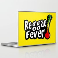 reggae Laptop & iPad Skins featuring Reggae Fever by Marvin Porcher