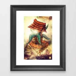 The Wormhole Framed Art Print