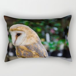 Beautiful owl Rectangular Pillow