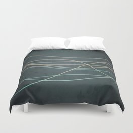 Abstract Lines 1 Duvet Cover