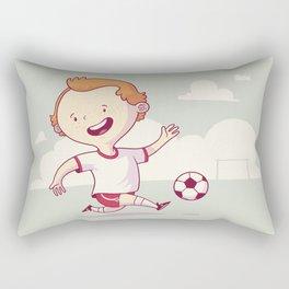 Street Soccer Rectangular Pillow