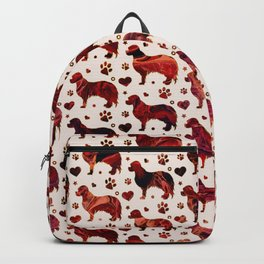 Cavalier King Charles pattern Backpack