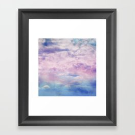 Cloud Trippin' Framed Art Print