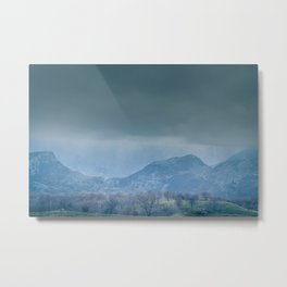 Time Horizon Metal Print