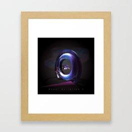 Surreal travel Framed Art Print