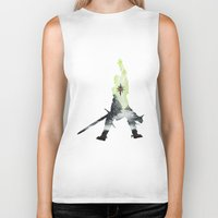 dragon age inquisition Biker Tanks featuring Dragon age inquisition by Ioana Muresan