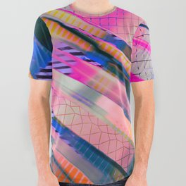 Color Wave ~038~ All Over Graphic Tee