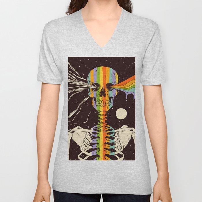 Dark Side of Existence Unisex V-Neck