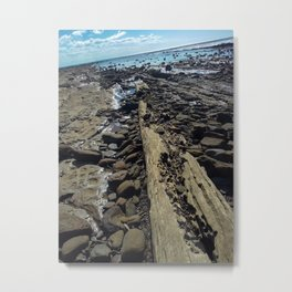Gatakers Bay- Fraser Coast, Queensland Metal Print