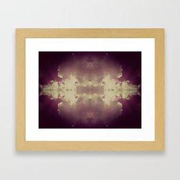 Fluffy Violet Framed Art Print
