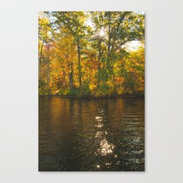 Fall Is In Session Canvas Print