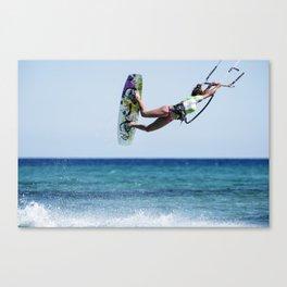 Kit Surf Canvas Print