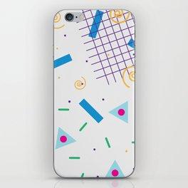 90's graphic iPhone Skin