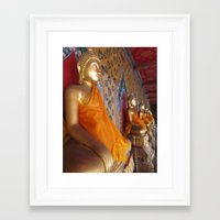 thailand Framed Art Prints featuring Thailand by Whitney Woodrick