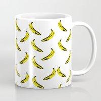 banana Mugs featuring Banana! by MrWhite