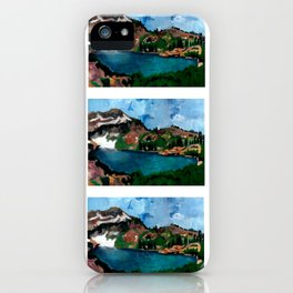 Cecret Lake. Utah. iPhone Case