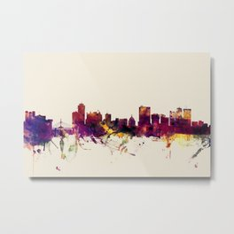 Winnipeg Canada Skyline Metal Print