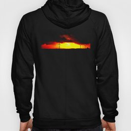 wind and fire. Hoody