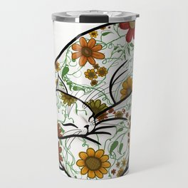 Pretty Kitty - no background Travel Mug