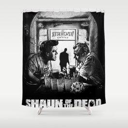 Shaun of the Dead Shower Curtain