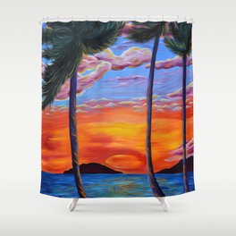 Majestic Maui Moment Shower Curtain