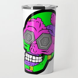 Psych Skull Travel Mug
