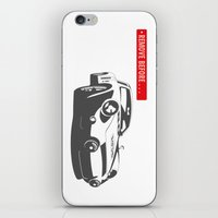 porsche iPhone & iPod Skins featuring Porsche 356 by Remove Before . . .
