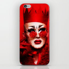 RUPAUL DRAG RACE SASHA VELOUR QUEEN HEY iPhone Skin