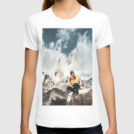 hiking in patagonia T-shirt
