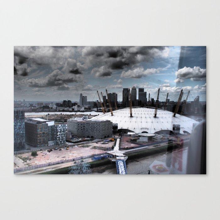 Docklands Canvas Print