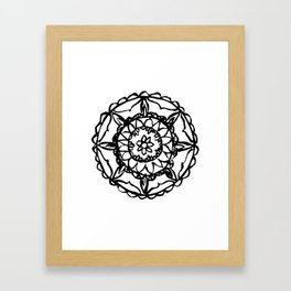 Abstract Bohemian Pattern Framed Art Print